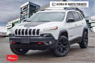 Used 2018 Jeep Cherokee 4x4 Trailhawk No Accident| Remote Start| for sale in Thornhill, ON
