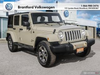Used 2017 Jeep Wrangler Unlimited Sahara for sale in Brantford, ON