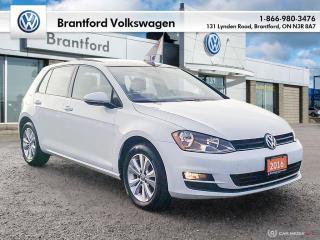 Used 2016 Volkswagen Golf 5-Dr 1.8T Comfortline 6sp at w/Tip for sale in Brantford, ON