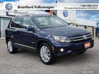 Used 2015 Volkswagen Tiguan Highline 6sp at Tip 4M for sale in Brantford, ON