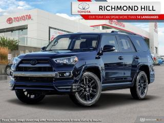 New 2020 Toyota 4Runner Nightshade  -  Navigation - $193.93 /Wk for sale in Richmond Hill, ON