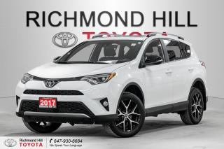 Used 2017 Toyota RAV4 SE AWD for sale in Richmond Hill, ON