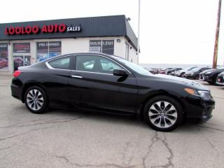 Used 2013 Honda Accord EX Coupe Auto Camera Sunroof Bluetooth Certified for sale in Milton, ON