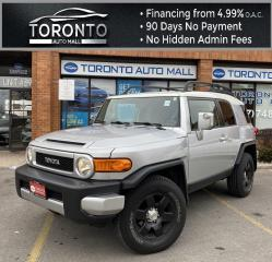 Used 2007 Toyota FJ Cruiser 4WD AT Back Up Camera Parking Sensors Roof Rack Parking Sensors Clean Carfax for sale in North York, ON