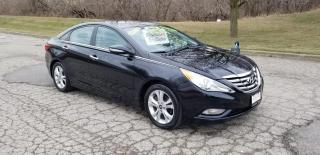Used 2011 Hyundai Sonata Limited w/Nav / LEATHER HEATED SEATS for sale in Mississauga, ON