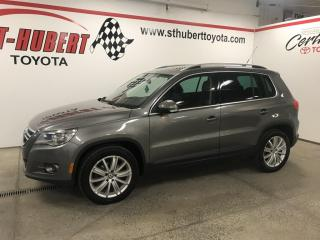 Used 2009 Volkswagen Tiguan COMFORTLINE 4Motion, TOIT PANORAMIQUE for sale in St-Hubert, QC