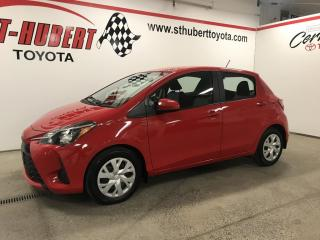 Used 2018 Toyota Yaris LE, CAMÉRA DE RECUL for sale in St-Hubert, QC