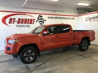 Used 2017 Toyota Tacoma 4WD Double Cab V6 TRD SPORT for sale in St-Hubert, QC