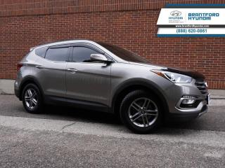 Used 2017 Hyundai Santa Fe Sport SE | LOCAL TRADE IN | IMMACULATE | SERVICED HERE | LEATHER | SUNROOF | AWD  - $149 B/W for sale in Brantford, ON