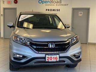 Used 2016 Honda CR-V EX-L AWD Leather Rearview Camera for sale in Burnaby, BC