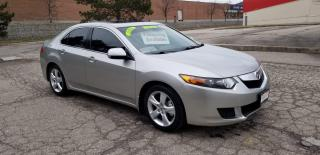 Used 2009 Acura TSX HEATED SEATS / SUNROOF for sale in Mississauga, ON