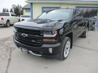 Used 2017 Chevrolet Silverado 1500 LIKE NEW LT EDITION 5 PASSENGER 5.3L - V8.. 4X4.. QUAD-CAB.. SHORTY.. HEATED SEATS.. BACK-UP CAMERA.. BLUETOOTH SYSTEM.. KEYLESS ENTRY.. for sale in Bradford, ON