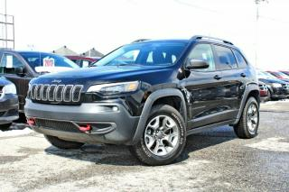 Used 2019 Jeep Cherokee TRAILHAWK 4X4 *V6*HITCH*APPLE CARPLAY* for sale in Brossard, QC
