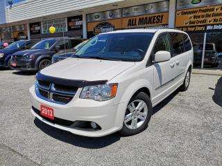 Used 2013 Dodge Grand Caravan CREW PLUS | No Accidents | NAV - DVD - LEATHER - 2 sets of tires and wheels for sale in North York, ON