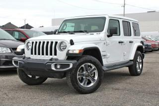 Used 2019 Jeep Wrangler UNLIMITED SAHARA * TOIT ÉLECTRIQUE * for sale in Brossard, QC