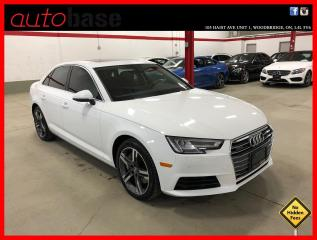 Used 2017 Audi A4 TECHNIK COMFORT SEATING PKG for sale in Vaughan, ON