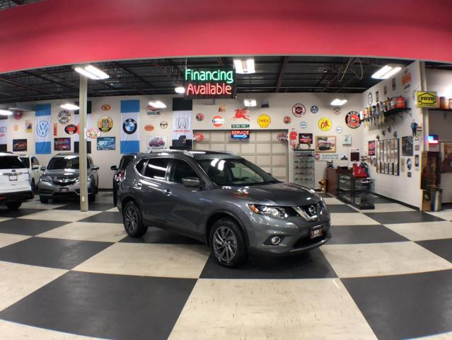 2016 Nissan Rogue 2.5L SL AUT0 A/C LEATHER PANO/ROOF BACKUP CAMERA 74K