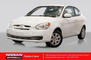Used 2011 Hyundai Accent SPORT TRES BAS KM / A/C / AUTOMATIQUE / DÉMARREUR A DIST for sale in Montréal, QC