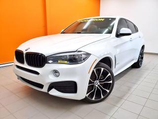 Used 2016 BMW X6 XDRIVE35I AWD NAVIGATION TOIT OUVRANT *CUIR* for sale in Mirabel, QC