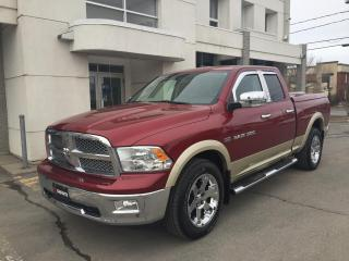 Used 2011 RAM 1500 Cabine quad 4RM, 140,5 po Laramie/bas km for sale in Drummondville, QC