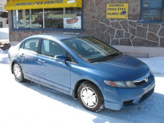 Used 2009 Honda Civic Hybride for sale in Quebec, QC
