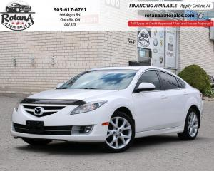Used 2010 Mazda MAZDA6 GT_LEATHER_SUNROOF_LOW KMS for sale in Oakville, ON