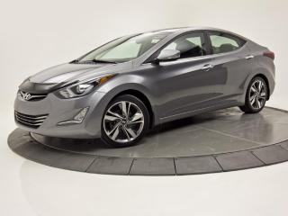 Used 2015 Hyundai Elantra LIMITED NAV TOIT OUVRANT CUIR CAM DE RECUL for sale in Brossard, QC