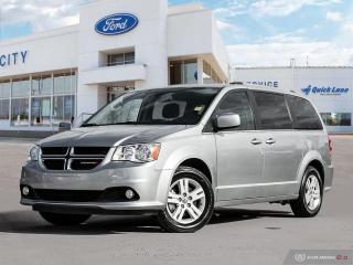 Used 2018 Dodge Grand Caravan Crew Plus for sale in Winnipeg, MB