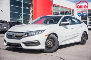 Used 2016 Honda Civic GARANTIE LALLIER MOTO-PROPULSEUR 10ANS/200,000 KIL P5021  BLANC for sale in Terrebonne, QC