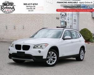 Used 2013 BMW X1 28i w/Navi/Pano Roof/Leather/Bluetooth for sale in Oakville, ON