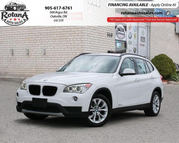 2013 BMW X1 28i w/Navi/Pano Roof/Leather/Bluetooth
