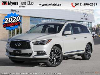New 2020 Infiniti QX60 PURE AWD  - Sunroof -  Heated Seats for sale in Ottawa, ON