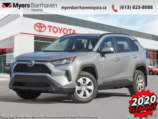 New 2020 Toyota RAV4 LE AWD  - Heated Seats - $207 B/W for sale in Ottawa, ON