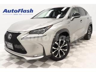 Used 2017 Lexus NX 200t Premium F-Sport-2 *Cuir-Rouge! Red-Leather! for sale in St-Hubert, QC