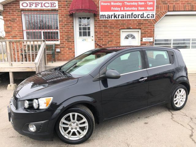 2013 Chevrolet Sonic LT Auto A/C Bluetooth Sunroof Heated Seats