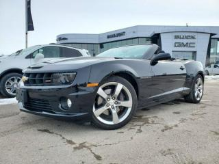Used 2011 Chevrolet Camaro 2SS RS Convertible RWD   Heated Seats for sale in Winnipeg, MB