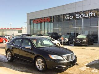 Used 2012 Chrysler 200 LIMITED, AUTO, LEATHER - FINANCING AVAILABLE for sale in Edmonton, AB