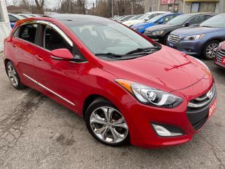 Used 2013 Hyundai Elantra GT TECH PKG/ LEATHER/ SUNROOF/ NAVI/ REVERSE CAM + + for sale in Scarborough, ON