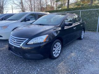 Used 2014 Nissan Sentra Berline 4 portes, automatique, S for sale in Victoriaville, QC
