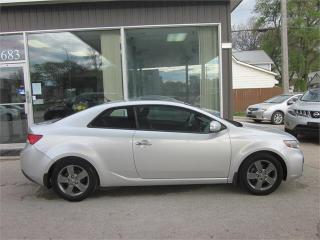 Used 2010 Kia Forte Koup EX w/Sunroof for sale in Winnipeg, MB