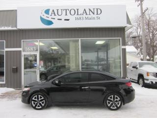 Used 2010 Kia Forte Koup SX for sale in Winnipeg, MB
