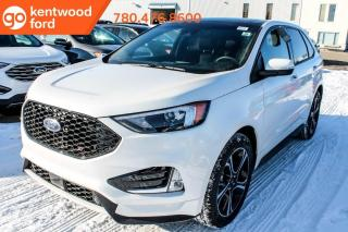 New 2020 Ford Edge ST 401A AWD 2.7L V6, Power Heated Leather Seats, Auto Start/Stop, Lane Keeping System, Pre-Collision Assist, Remote Vehicle Start, Reverse Camera System, Reverse Sensing System, and Trailer Tow Packag for sale in Edmonton, AB