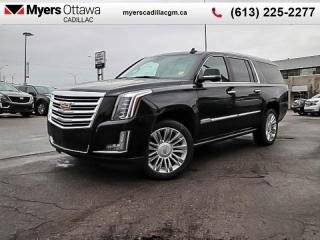 Used 2020 Cadillac Escalade ESV Platinum  - Sunroof for sale in Ottawa, ON