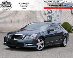 Used 2013 Mercedes-Benz E-Class E 350_NAVI_BLIND SPOT_REAR CAM_PANO ROOF for sale in Oakville, ON
