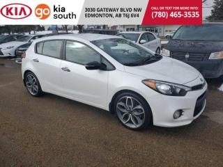 Used 2014 Kia Forte5 3 MNTHS NO PYMNTS SX HEATED SEATS BACKUP CAM BLUETOOTH AND MORE for sale in Edmonton, AB
