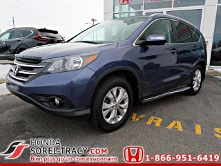 Used 2014 Honda CR-V EX-L traction intégrale for sale in Sorel-Tracy, QC