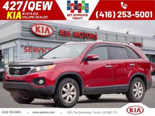 Used 2014 Kia Sorento LX FWD| Heated Seat | Cruise | Bluetooth for sale in Etobicoke, ON