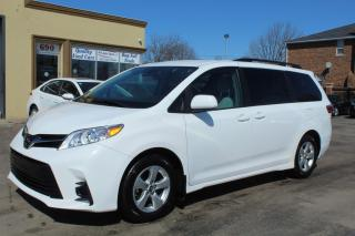 Used 2018 Toyota Sienna LE Power Doors 8 Passengers for sale in Brampton, ON