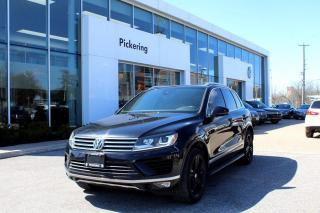 Used 2017 Volkswagen Touareg Wolfsburg Edition for sale in Pickering, ON