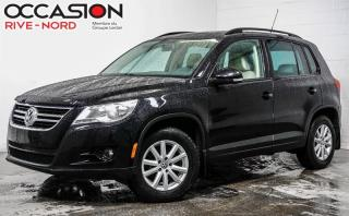 Used 2009 Volkswagen Tiguan 4x4 Trendline Toit ouvrant+++ for sale in Boisbriand, QC